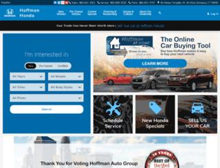 hoffmanhonda.com screenshot