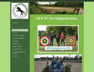 hofgeestruiters.nl screenshot