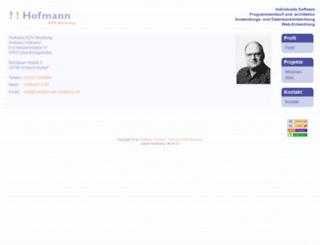 hofmann-edv-beratung.de screenshot