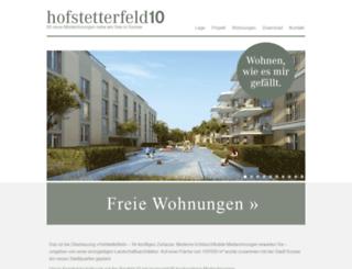 hofstetterfeld10.ch screenshot