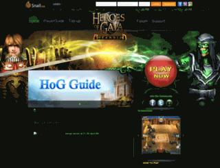 hog.playsnail.com screenshot