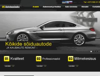 hogangrupp.ee screenshot
