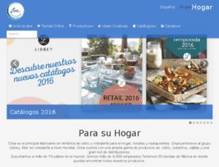 hogar.crisa.com screenshot