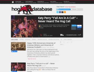 hogdb.com screenshot