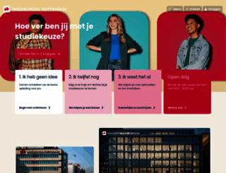 hogeschool-rotterdam.nl screenshot