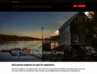 hogisland.audubon.org screenshot