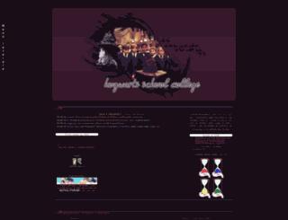 hogwartsschoolcollege.forumfree.net screenshot