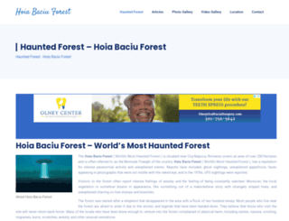 hoiabaciuforest.com screenshot