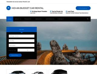hoianbudgetcarrental.com screenshot