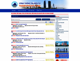 hoidap.danang.gov.vn screenshot