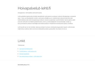 hoivapalvelut-lehti.fi screenshot