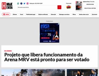 hojeemdia.com.br screenshot