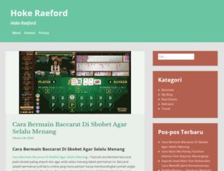 hoke-raeford.com screenshot