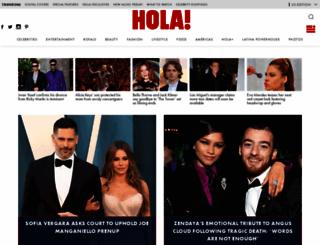 hola.com screenshot