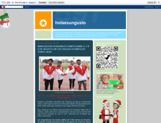 holaesungusto.blogspot.com screenshot