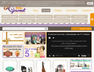 holagourmet.com screenshot