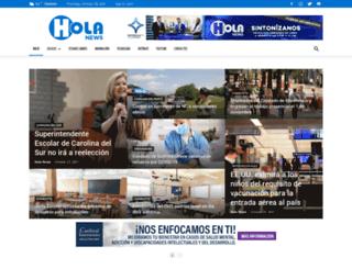 holanoticias.com screenshot
