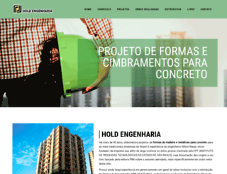 holdengenharia.com.br screenshot