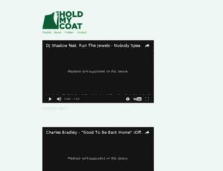 holdmycoat.com screenshot