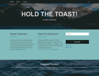 holdthetoast.com screenshot