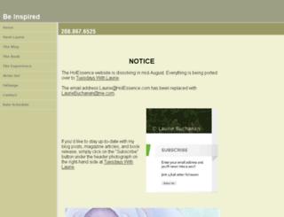 holessence.com screenshot