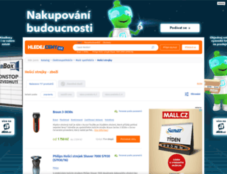 holici-strojky.hledejceny.cz screenshot