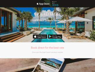 holidator.com screenshot