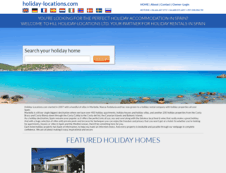 holiday-locations.com screenshot