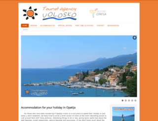 holiday-opatija.com screenshot