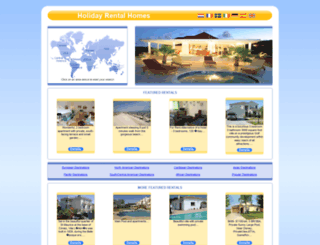 holiday-rental-homes.co.uk screenshot