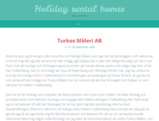 holiday-rental-homes.se screenshot