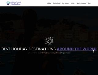holiday-travel-destinations.com screenshot