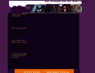 holiday-wars.com screenshot