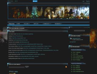 holiday.enjin.com screenshot