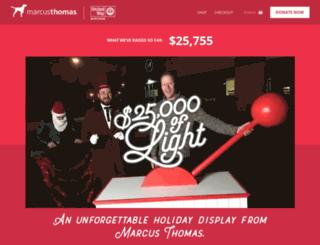 holiday.marcusthomasllc.com screenshot