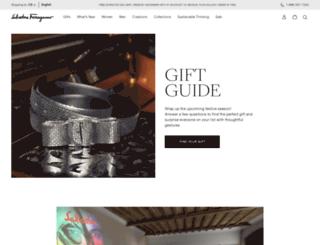 holiday2015.ferragamo.com screenshot