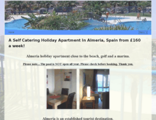 holidayapartment-almeria.com screenshot