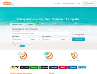 holidayautos.fr screenshot
