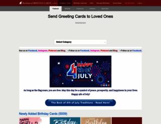 holidaycardsapp.com screenshot