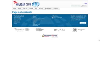 holidayclub.com screenshot