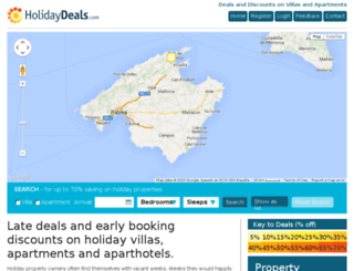 holidaydeals.com screenshot