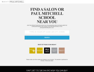 holidayfun.paulmitchell.com screenshot