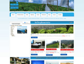 holidayhomeindia.com screenshot