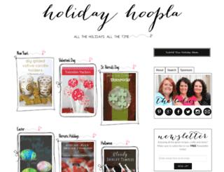 holidayhoopla.com screenshot