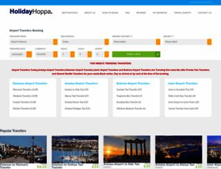holidayhoppa.com screenshot