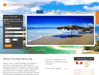 holidayingoa.org screenshot