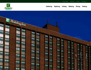 holidayinnbinghamton.com screenshot