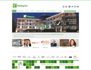 holidayinncba.com.ar screenshot