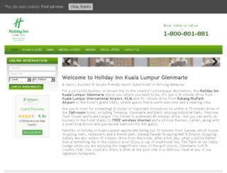 holidayinnglenmarie.com screenshot