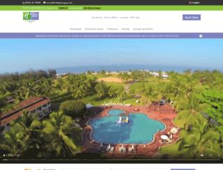 holidayinngoa.com screenshot